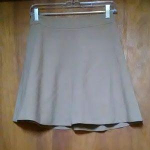 Mini swing skirt